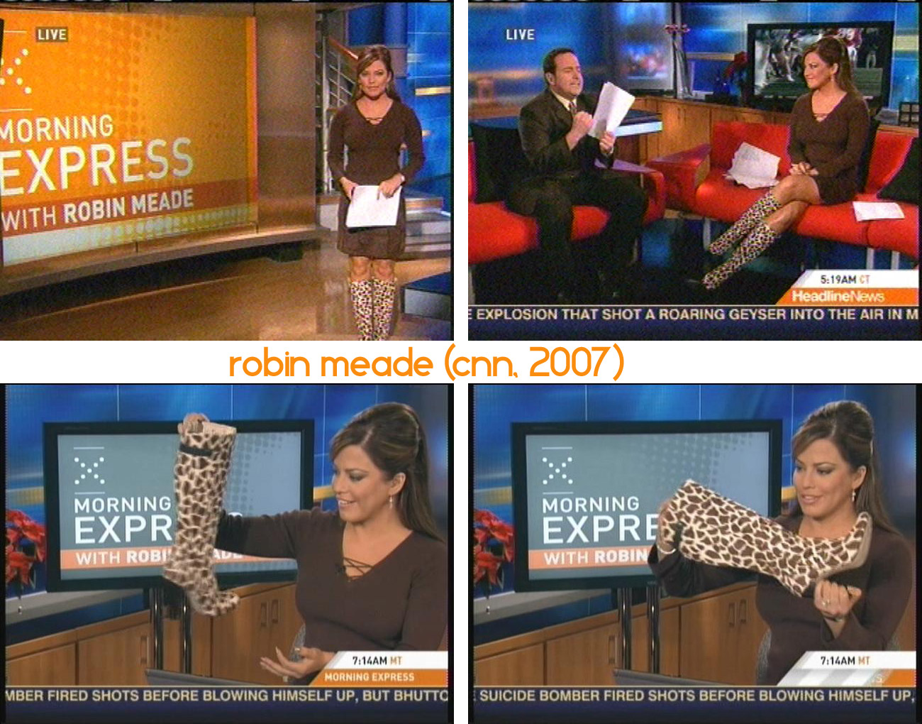 Robin Meade Feet Sandals Toes http://thehighheeltimes.wordpress.com/tag/robin-meade/
