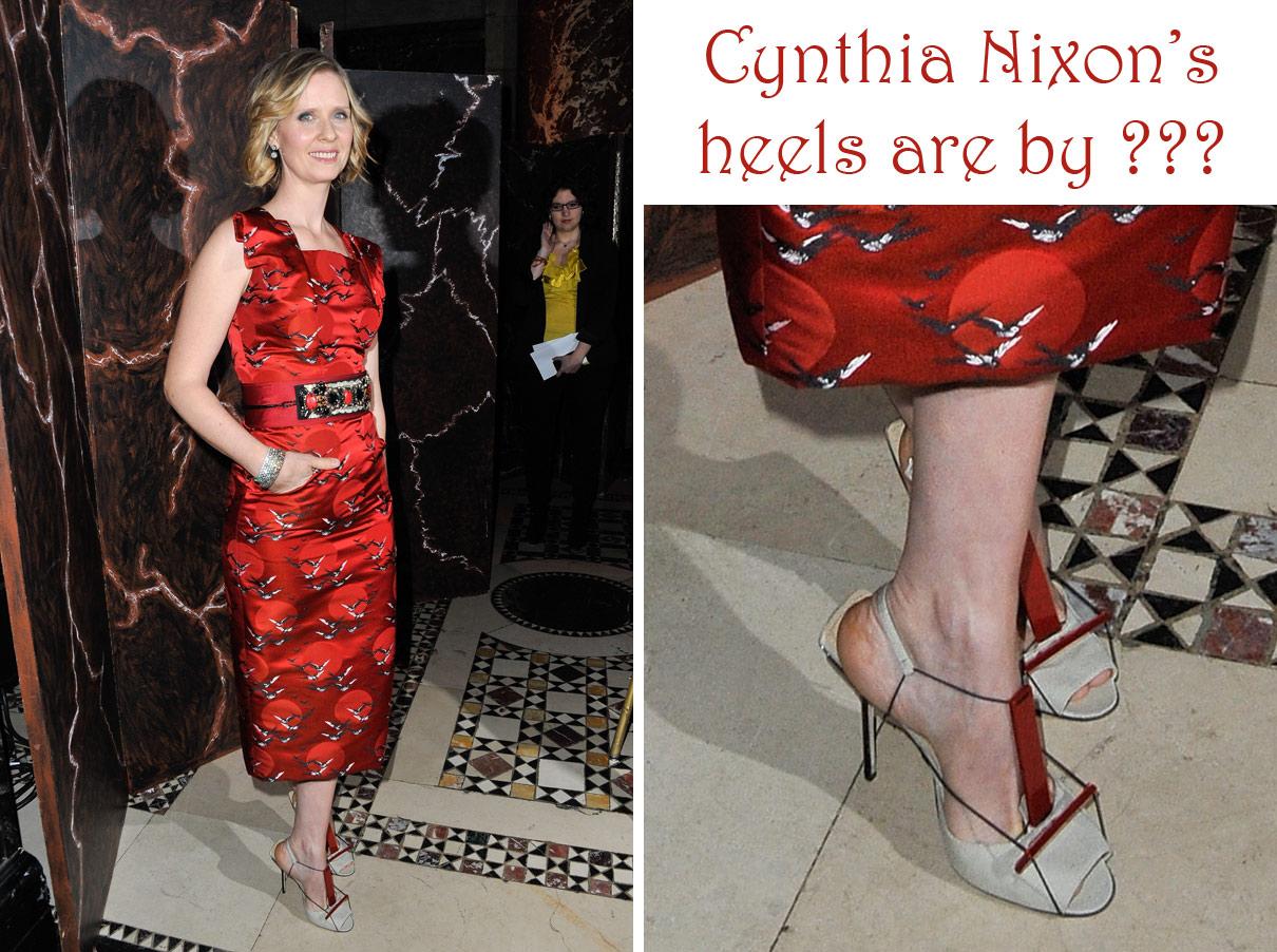 NixonThe Cynthia High High Cynthia Heel NixonThe Heel Times Times Cynthia NixonThe XNnO8Pk0w