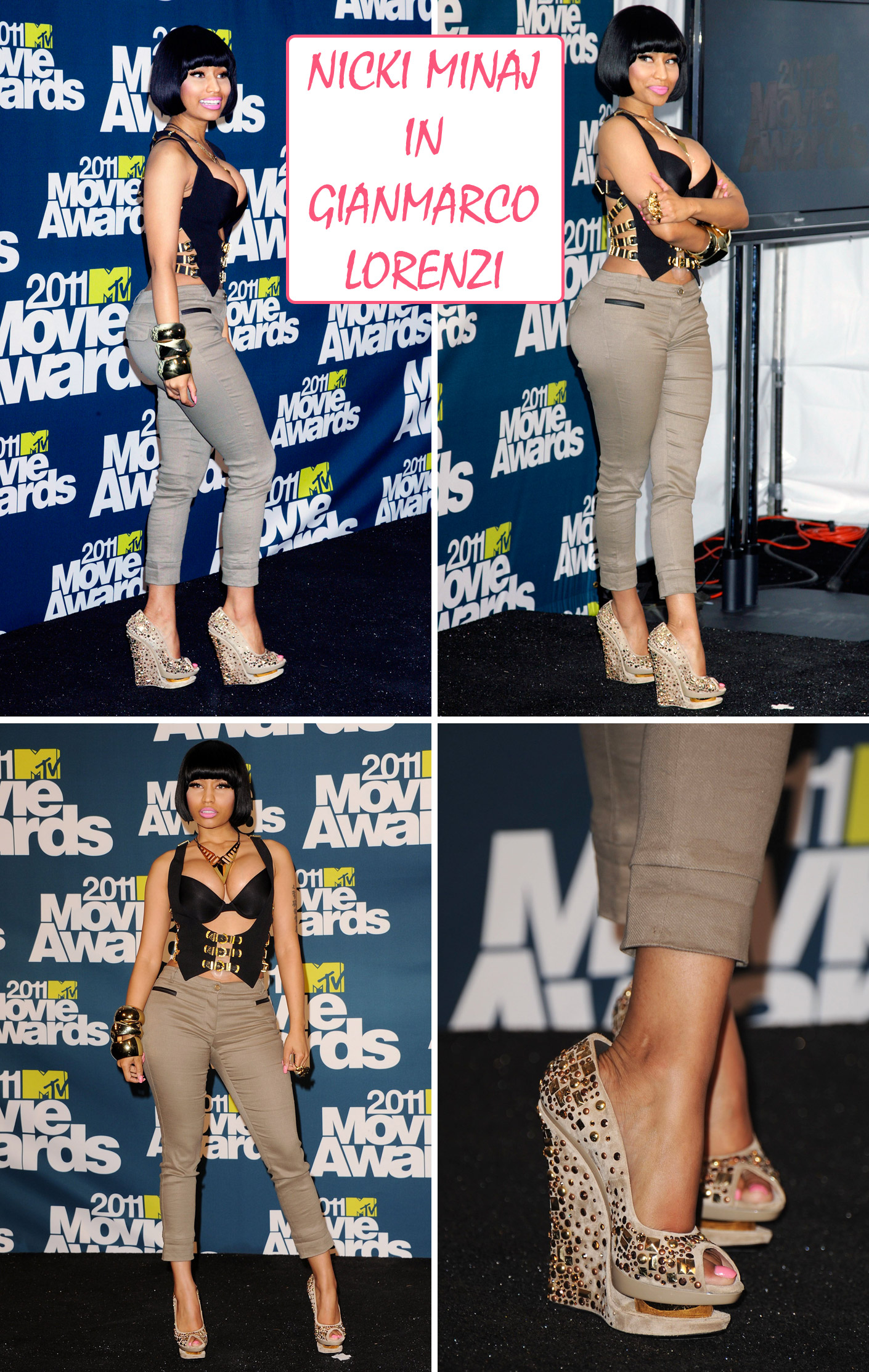 Nicki Minaj The High Heel Times