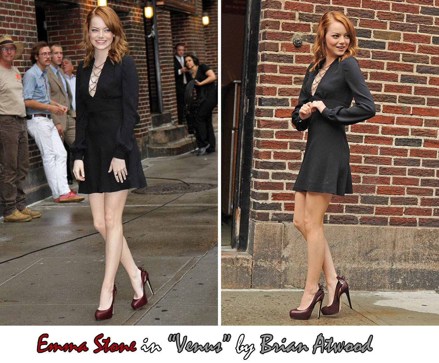 Emma Stone High Heels