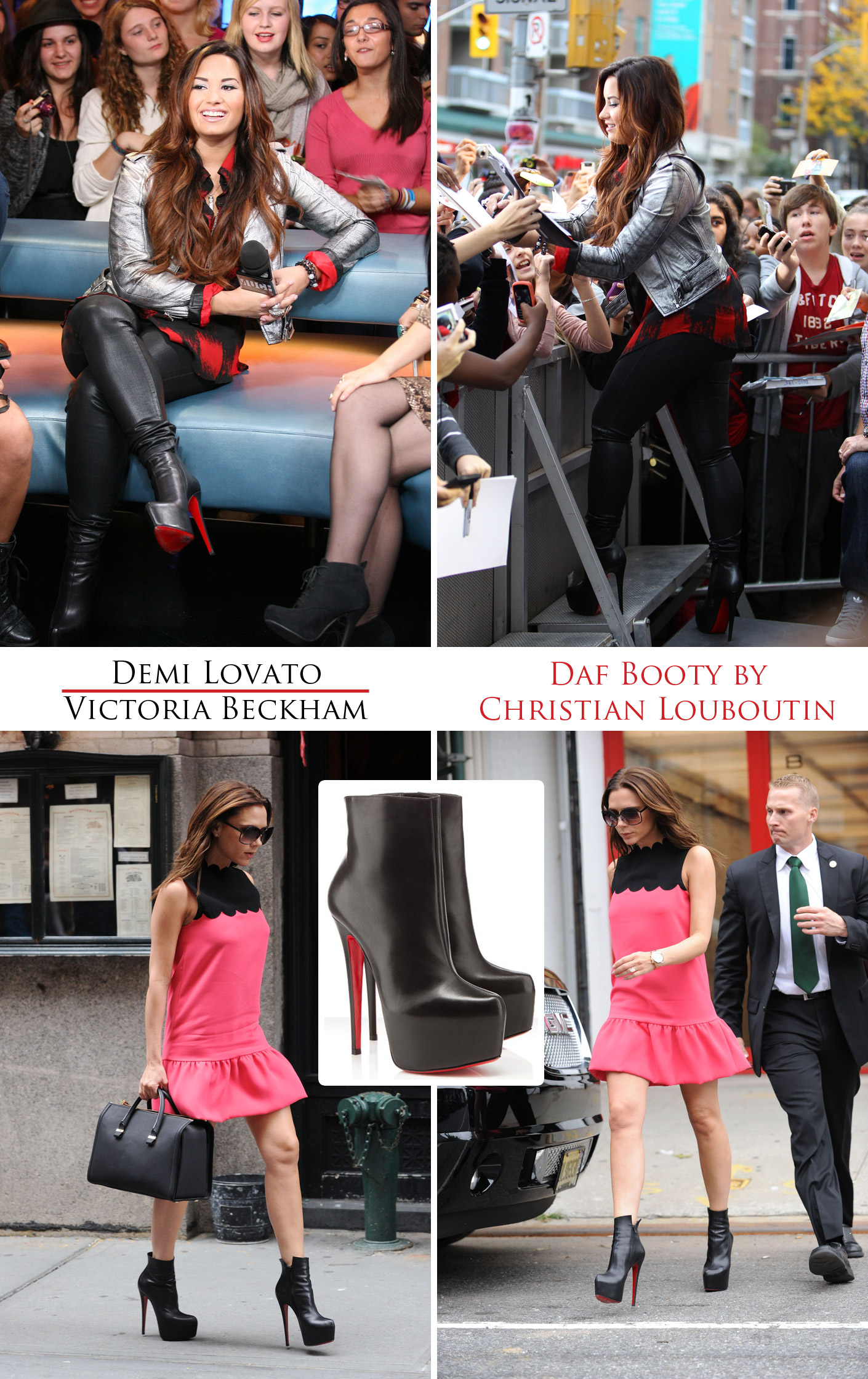 Demi lovato high heels 5
