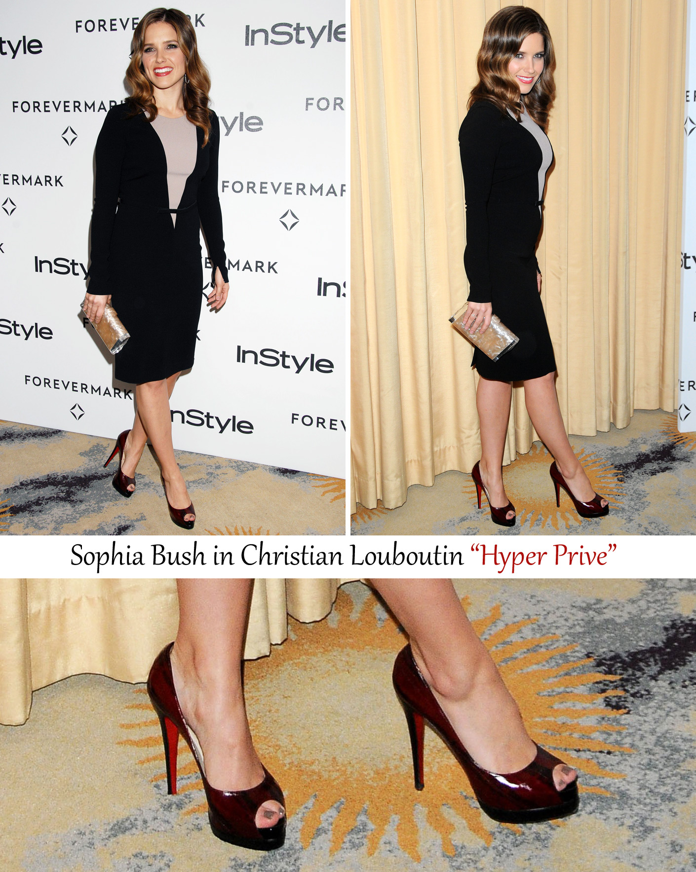 High sophia heels in bush
